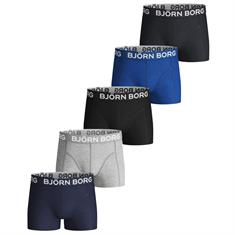 Bjorn Borg Boxershort Solid Blue Depths