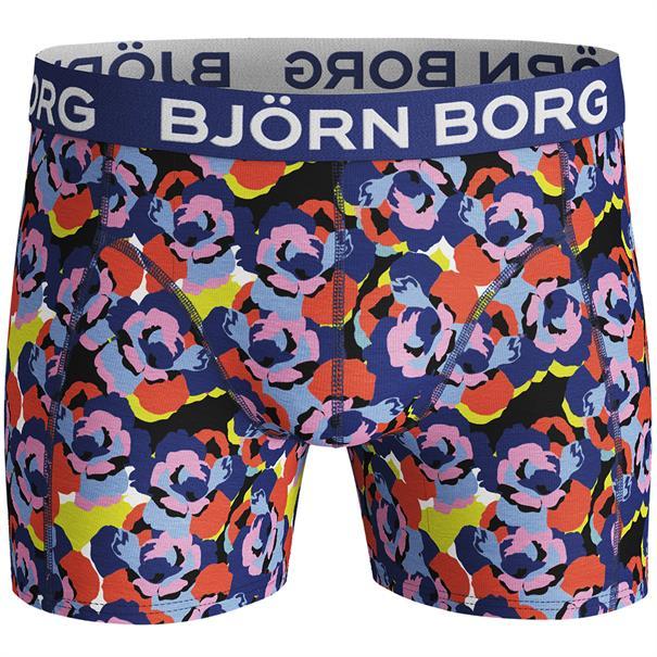 Björn Borg Shorts Sammy Camo Rose Blauw