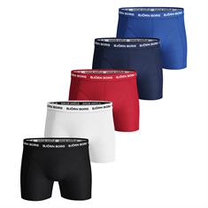 Björn Borg Shorts Solid Essential 5-pack