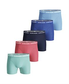 Björn Borg Shorts Solid Essentials 5-pack