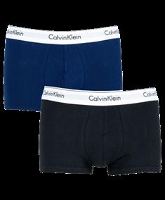 Calvin Klein Shorts Effen 2-pack