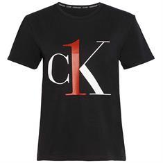 Calvin Klein T-Shirt CK One Coord Zwart