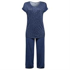 Esprit Pyjama Duana Printed Blauw