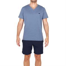 HOM Pyjama Set Short Calypso Donkerblauw