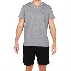 HOM Pyjama Set Short Onyx Zwart/Grijs