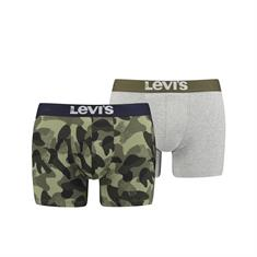 Levi's Shorts Camouflage Allover Print Groen
