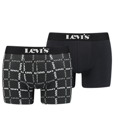 Levi's Shorts Logo Plaid 2-Pack