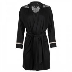 Lisca Vest Morning Gown Soul Zwart
