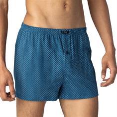 Mey Boxershorts Cordoba Blauw