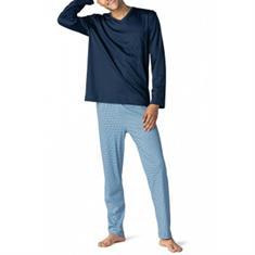 Mey Pyjama Set San Pedro Donkerblauw