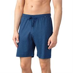 Mey Pyjamabroek Kort Basic Lounge Blauw