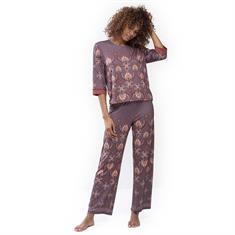 Mey Pyjamashirt Lounge 3/4 Mouw