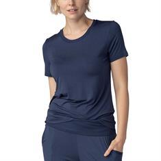 Mey T-shirt Sleepy & Easy Donkerblauw