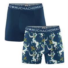Muchachomalo Boxershort Men 2-Pack Print/Solid
