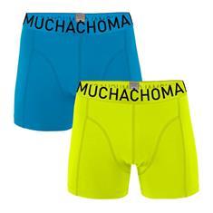 Muchachomalo Boxershort Men 2-Pack Solid