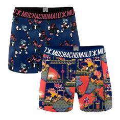 Muchachomalo Boxershort Men 2-pack Super nintendo