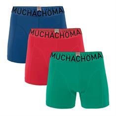 Muchachomalo Boxershort Men 3-Pack Short Solid