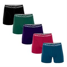 Muchachomalo Boxershort Men 5-pack Solid