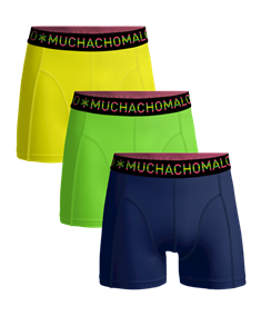 Muchachomalo Short Solid 3-Pack