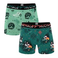 Muchachomalo Shorts Casino Royale 2-Pack Groen