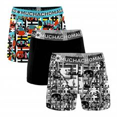 Muchachomalo Shorts Color Television 3-pack Zwart