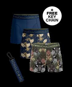 Muchachomalo Shorts King Maori 3-Pack