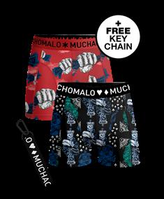 Muchachomalo Shorts Money & Gamble 2-Pack