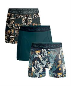 Muchachomalo Shorts Samurai Boys 3-pack