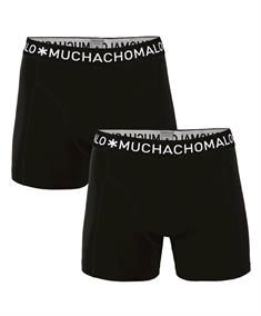 Muchachomalo Shorts Solid Boys 2-Pack