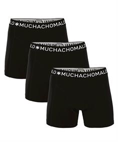Muchachomalo Shorts Solid Boys 3-pack