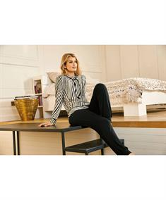Nina Von C Pyjamabroek Lang Effen