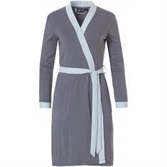 Pastunette Kimono Effen Lichtblauw/Grijs