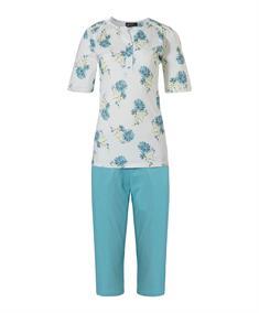 Pastunette Pyjama Capri Floral Blue Classic