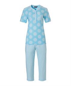 Pastunette Pyjama Capri Retro ZigZag Circles
