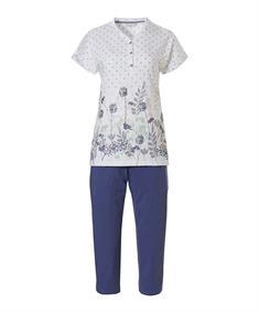 Pastunette Pyjama Capri Spring Waterflower
