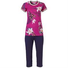 Pastunette Pyjama Set 7/8 Bloemenprint Roze/Blauw
