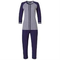 Pastunette Pyjama Set Print Donkerblauw