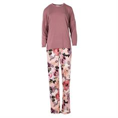 Pink Label Pyjama Set Romantic Flower