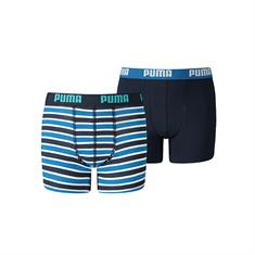 Puma Basic Boxer Printed Stripe 2-Pack