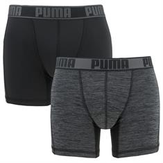 PUMA Boxershort Active Grizzly 2-pack