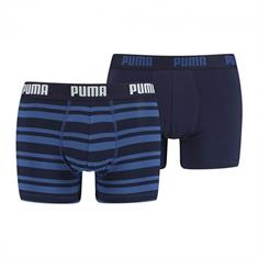PUMA Boxershort Heritage Stripe 2-pack