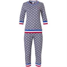 Rebelle Pyjama Set Capri Sterrenprint Donkerblauw