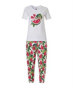 Rebelle Pyjama Set Capri Watermeloen