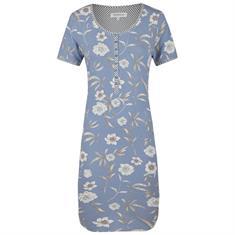 Ringella Nachthemd Bloemenprint Blauw