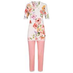 Ringella Pyjama Set 7/8 Bloemenprint Off-white