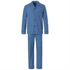 Robson Pyjama Set Allover Print Blauw