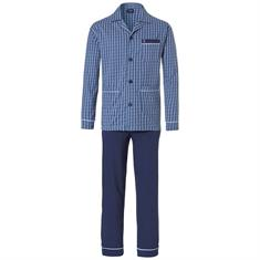 Robson Pyjama Set Allover Print Donkerblauw
