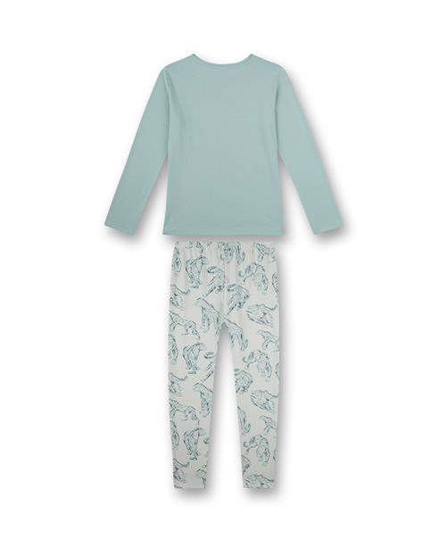 Sanetta Pyjama Lang Animal Print Girls
