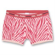 Sanetta Short Athleisure Zebra Print