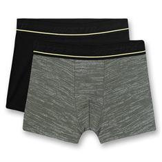 Sanetta Shorts Into The Wilde 2-pack Groen/Zwart